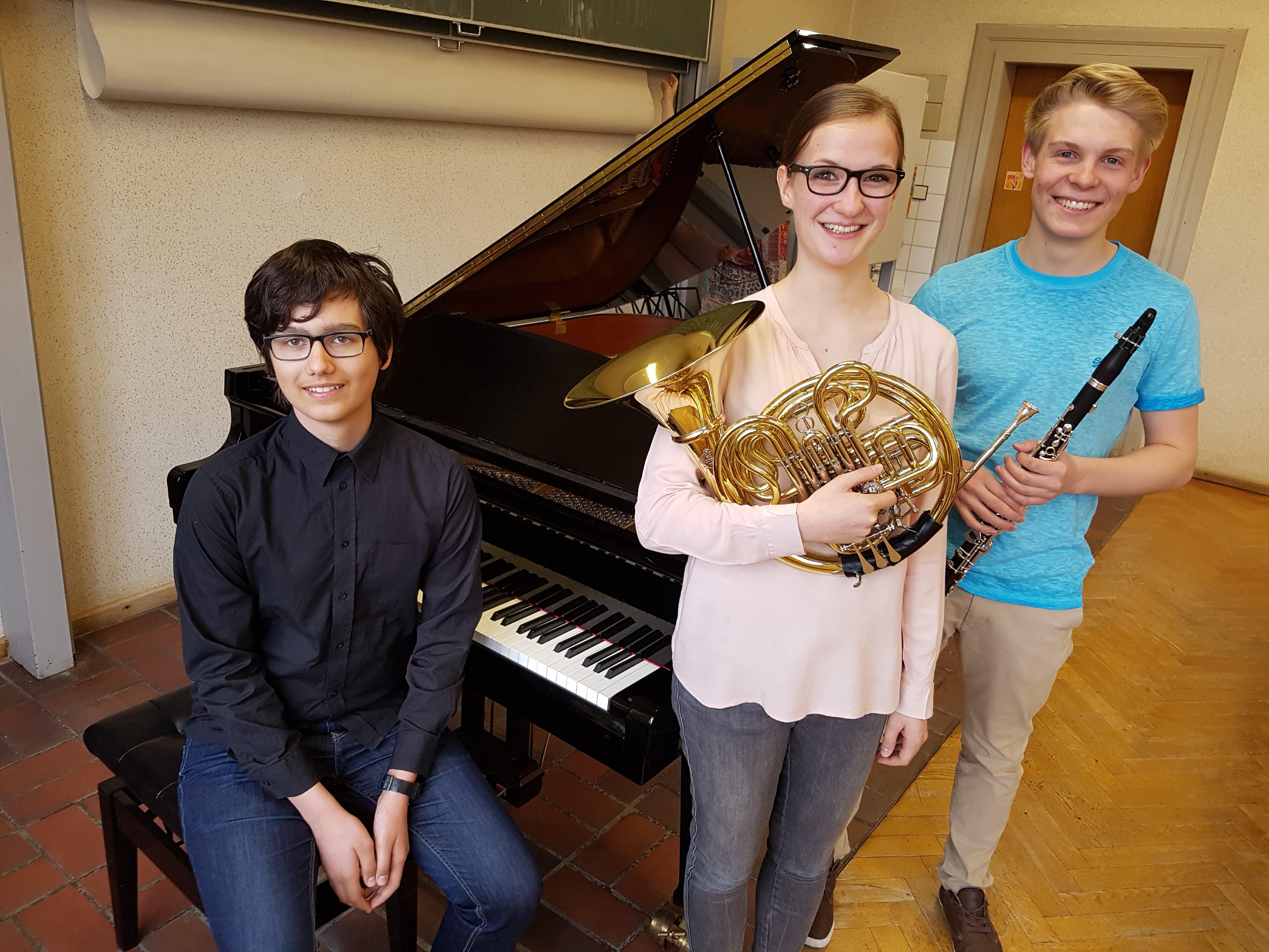 Jugendmusikschüler beim Landeswettbewerb erfolgreich