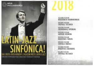 Latin-Jazz Sinfónica @ Stadthalle Tuttlingen