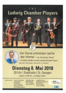 The Ludwig Chamber Players @ Stadthalle St. Georgen