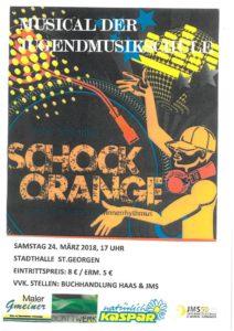 Kindermusical Schockorange @ Stadthalle St. Georgen