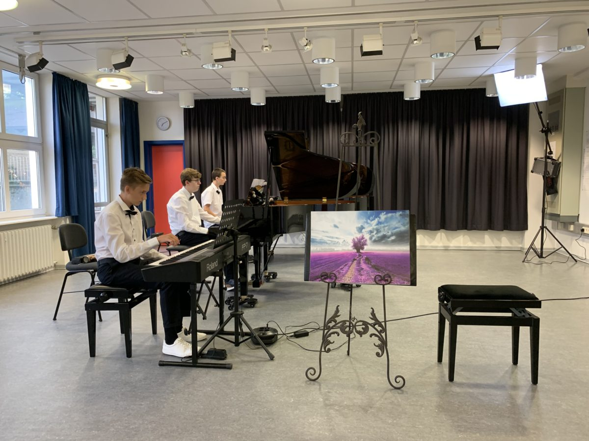 Drei Pianisten ziehen in den Bundeswettbewerb